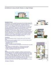 Architektonisch anspruchsvoller Neubau in ... - Netz - Bau GmbH
