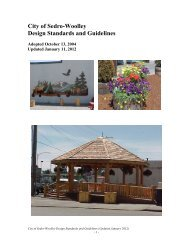 City of Sedro-Woolley Design Standards and Guidelines