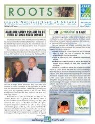 081626 JNF Roots news 4 - JNF TORONTO - Jewish National Fund ...