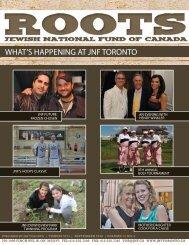 fall 2010 - JNF TORONTO - Jewish National Fund of Canada