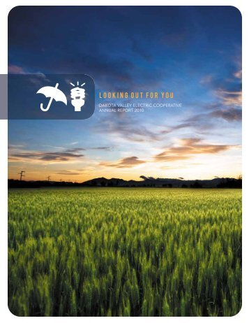 2010 Annual Report - Dakota Valley Electric Cooperative