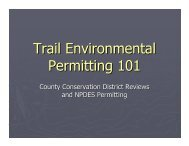 Trail Environmental Permitting - The Delaware and Lehigh National ...