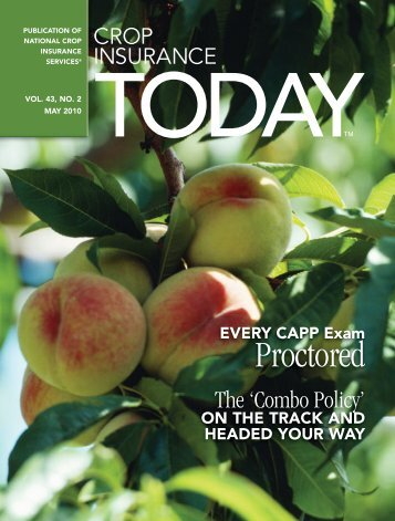 May 2010 Vol 43 No 2 - National Crop Insurance Services