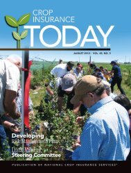 August 2012 - National Crop Insurance Services