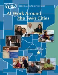 At Work Around the Twin Cities - Hired