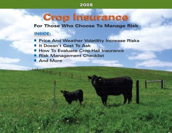 Crop Insurance Guide 2008 GA - National Crop Insurance Services