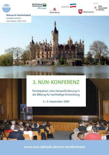 Die Kurzdokumentation zur 3. NUN-Konferenz