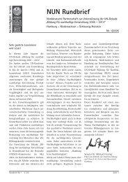 NUN Rundbrief - Nr. 1/2005