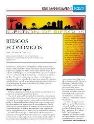 RIESGOS ECONÓMICOS - National Crop Insurance Services