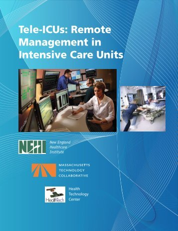 Tele-ICUs: Remote Management in Intensive Care Units - Pcfly