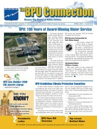 BPU: 100 Years of Award-Winning Water Service - Pcfly