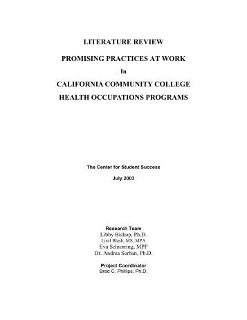 Empirical literature review
