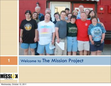 The Mission Project: A Community Living Solution for Adults with ...