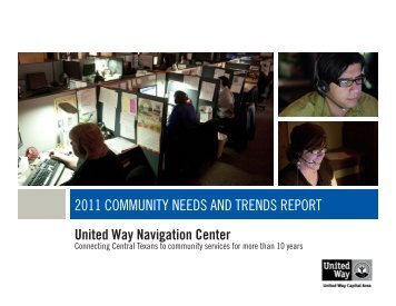 2011 Community Needs and Trends Report - Community Action ...