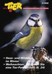 Schenken Sie eine Tier-Patenschaft (S. 24) - Tierschutz: Pro Tier