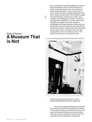 A Museum That is Not - e-flux Layout Generator