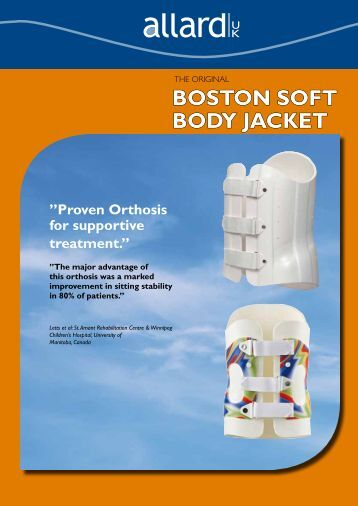 BOSTON SOFT BODY JACKET - Allard International