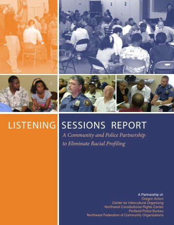 LISTENING SESSIONS REPORT