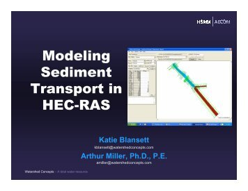 Modeling Sediment Transport in HEC-RAS