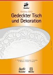 Download Gedeckter Tisch und Dekoration - Staufen GmbH & Co. KG