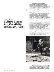Culture Class: Art, Creativity, Urbanism, Part I - e-flux Layout Generator