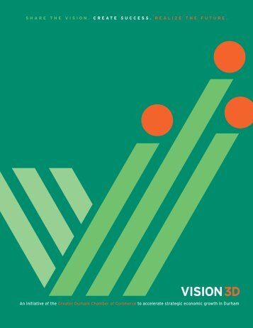 the Vision 3D brochure. - Durham Chamber of Commerce