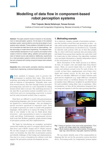 Modelling of data flow in component-based robot perception ... - PAR