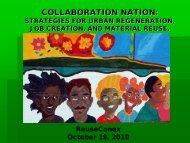Michael Gainer, Reuse Action - Reuse Alliance