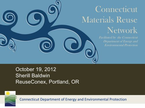 Creating a state sponsored reuse networks - Reuse Alliance