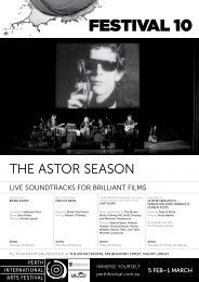 Download The Astor Season Program - Festival 10 - Perth ...