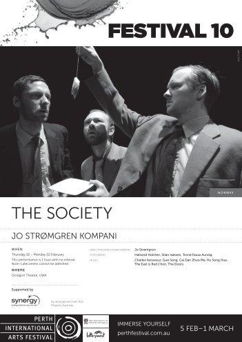 The Society Program - Perth Festival 10