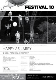 Download Happy as Larry program - Festival 10 - Perth International ...