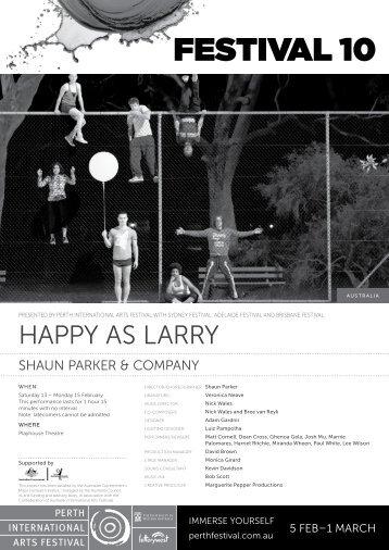 Download Happy as Larry program - Festival 10 - Perth International ...