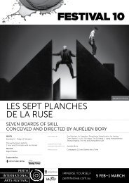 Download Les Sept Planches de la Ruse - Festival 10 - Perth ...