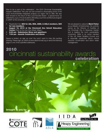 cincinnati sustainability awards - AIA Cincinnati