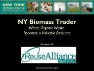 NY Biomass Trader 101 - Reuse Alliance