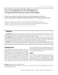 Use of Neostigmine for the Management of Drug Induced Ileus in ...