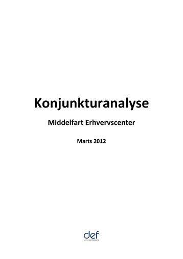Konjunkturanalyse - Middelfart Erhverv
