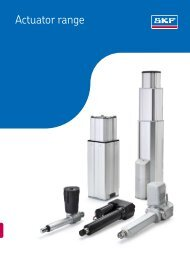 SKF Actuators Catalogue - Waikato Bearings
