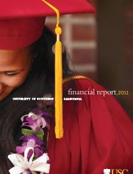 Financial Report - About USC - University of Southern California