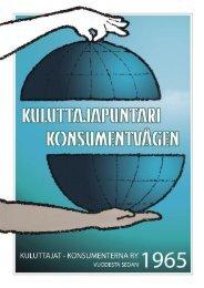 2005 - Kuluttajat-Konsumenterna ry
