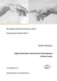 Ibrahim Bangura - Wittenberg-Zentrum für Globale Ethik