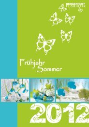 2012 - BERGERHOFF FLORISTIK GmbH & Co. KG