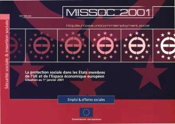 Archive MISSOC 2001