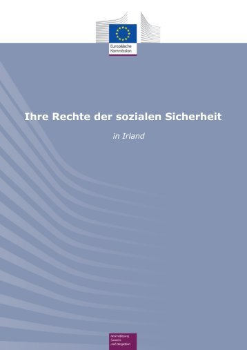 Ihre Rechte der sozialen Sicherheit in Irland - Europa