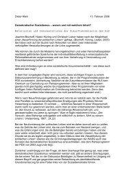 Dieter Klein 13. Februar 2006 Demokratischer Sozialismus - Rosa ...