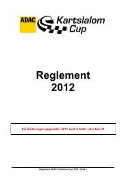 Reglement 2012 - MSC Marktredwitz
