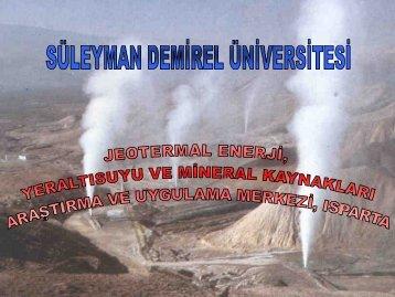 1 adet Sivi kapanim sistemi - Jeotermal Enerji,Yeraltısuyu ve Mineral ...
