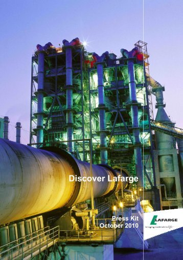Discover Lafarge: press kit