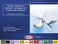 Kraft Foods - ZIEL - TUM - Akademie